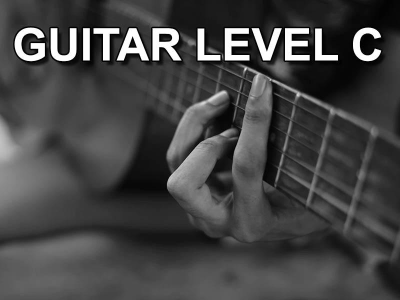 Guitar level C