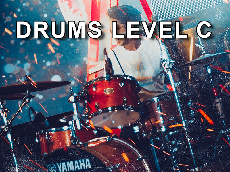 Drums level C