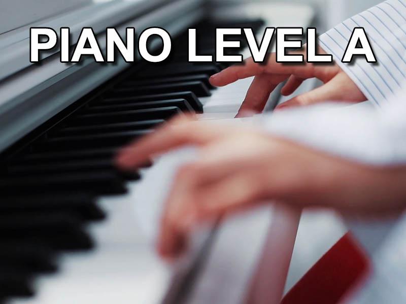 Piano level A
