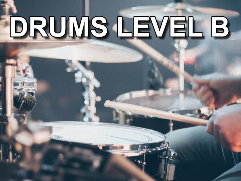 Drums level B