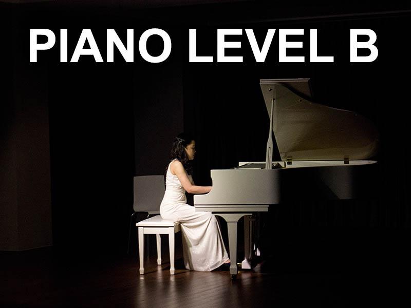 Piano level B