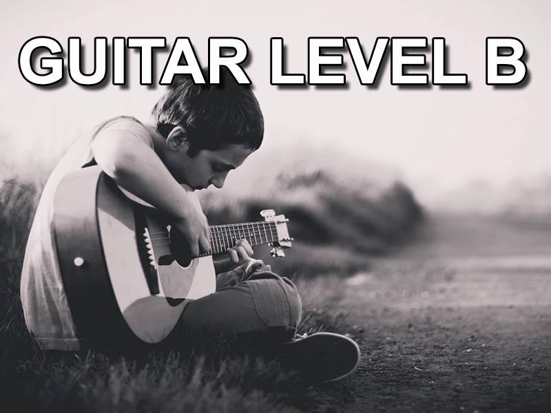 Guitar level B